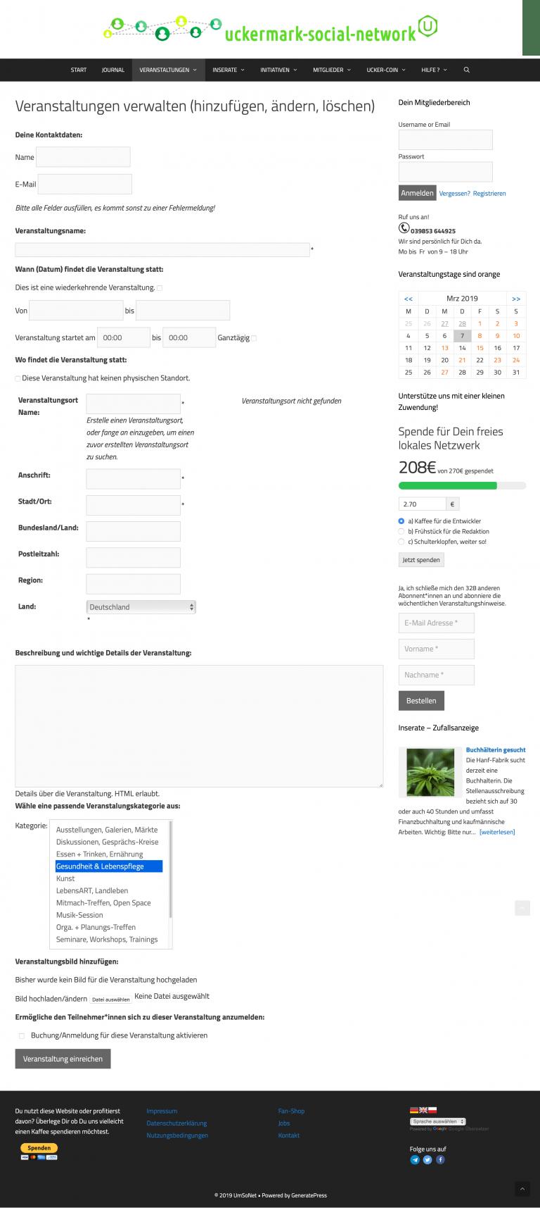 uckermark-social-network